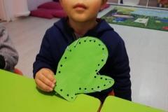 El-göz koordinasyonu, küçük kas gelişimi destekleyici etkinlik