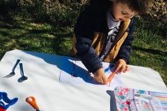 Montessori Aktiviteleri(nesne eşleştirme, maşa ile nesne taşıma)